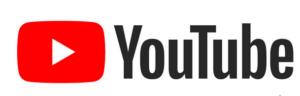 icono de YouTube, el enlace se abrirá en una nueva pestaña