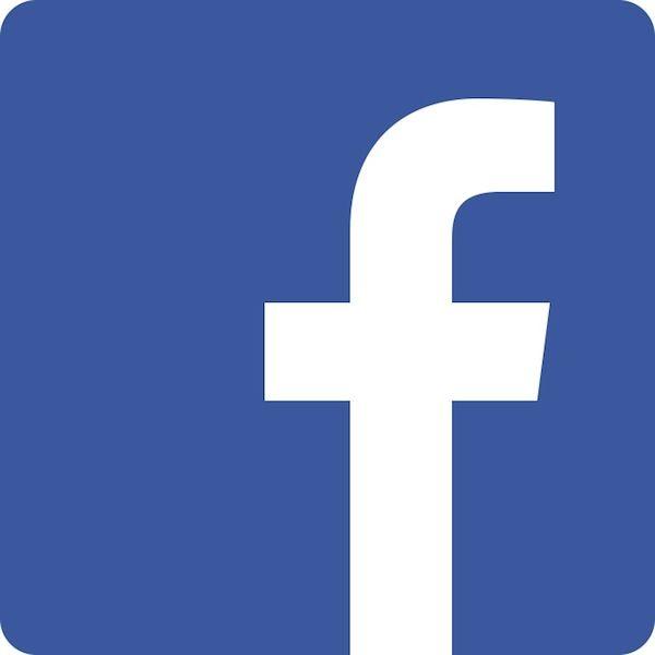 icono de Facebook, el enlace se abrirá en una nueva pestaña